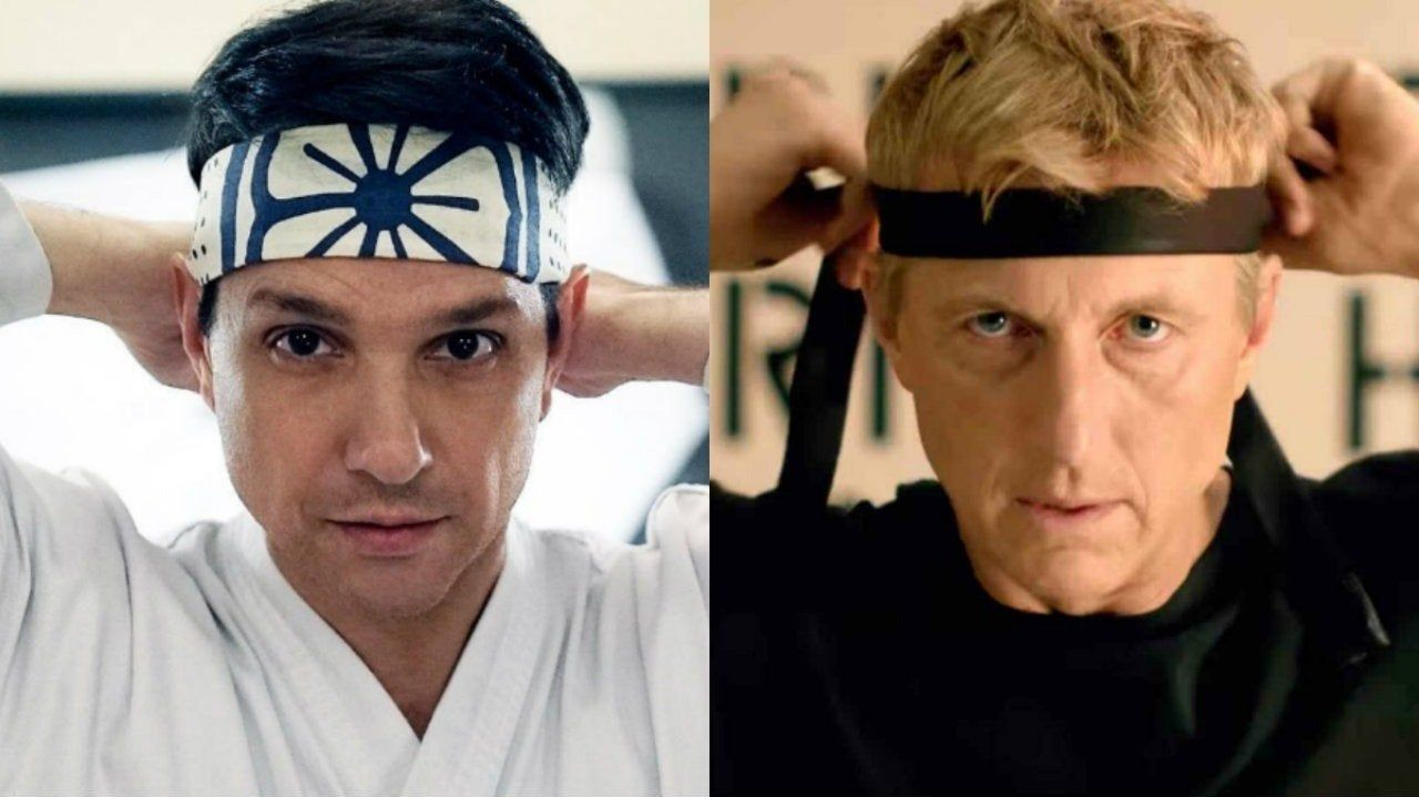 Daniel Larusso y Johnny Lawrence