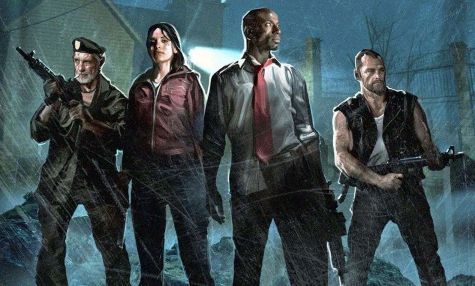 personajes Left 4 dead Turtle Rock Studio first game