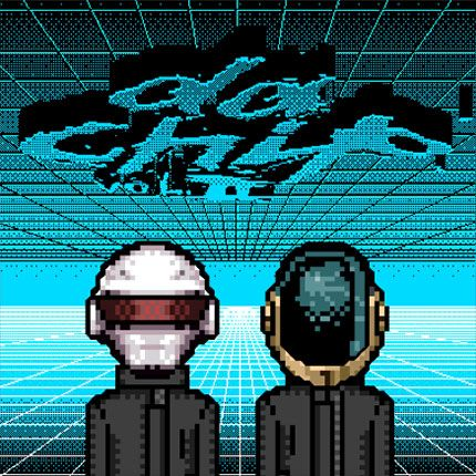 Da Chip! Daft Punk despixeleado